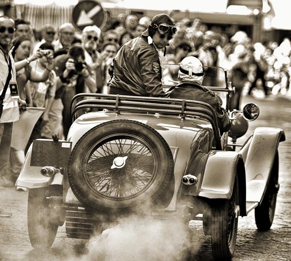 supporto tecnico per gare di regolarità e raduni di auto storiche